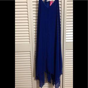 Blue Strap Dress